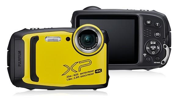 Waterproof camera FinePix XP140 yellow