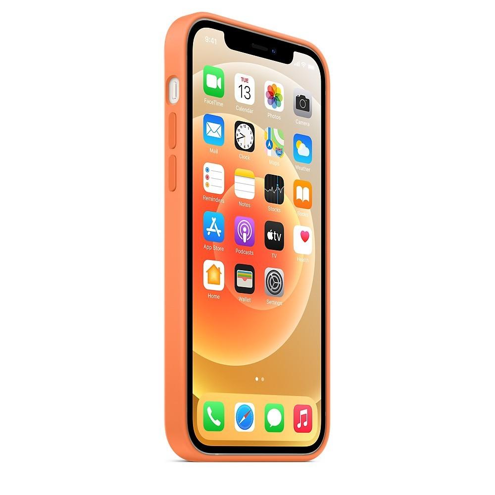 IPHONE 12_12 PRO Silicone Case Kumquat