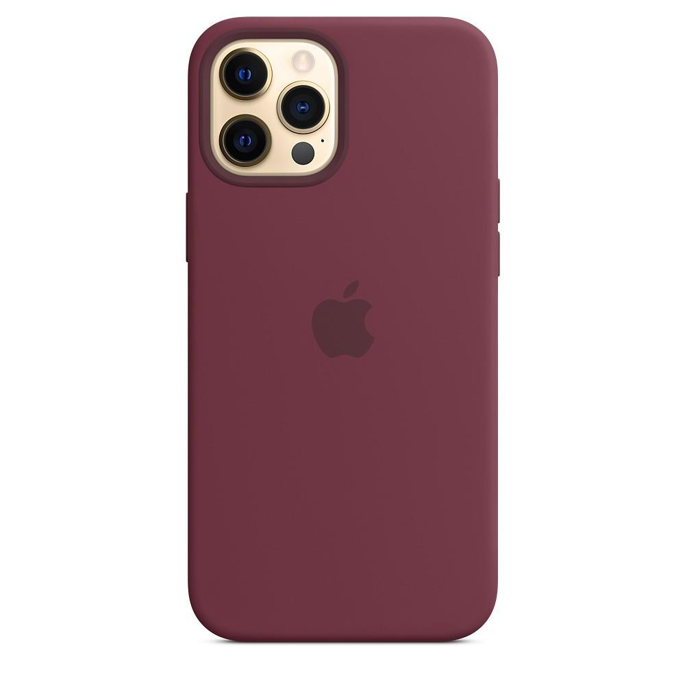 IPHONE 12 PRO MAX Silicone Case Plum