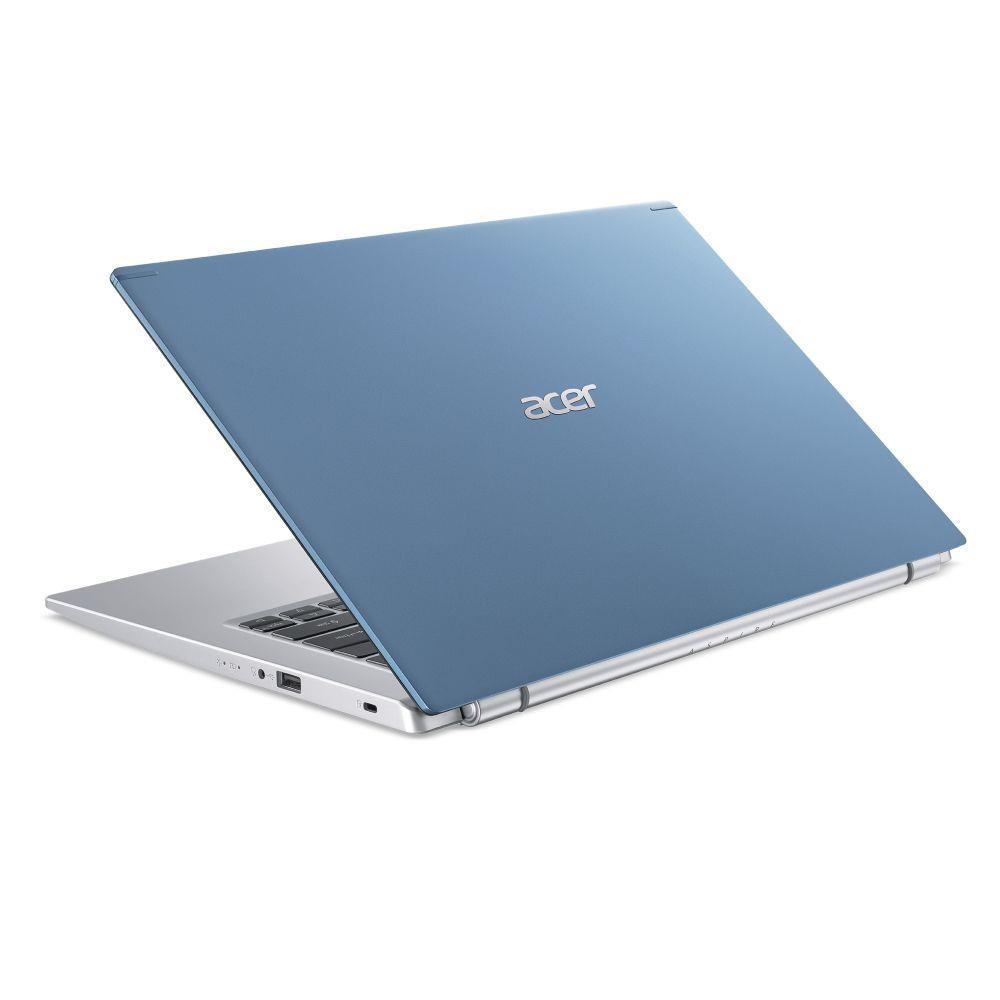 "Notebook|ACER|Aspire|A514-54-508B|CPU i5-1135G7|2400 MHz|14""|1920x1080|RAM 8GB|DDR4|SSD 512GB|Iris Xe Graphics|Integrated|ENG|Windows 10 Home|Blue|1.7 kg|NX.A29EL.009"