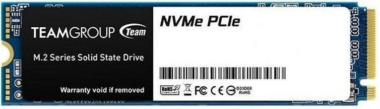 SSD|TEAMGROUP|256GB|M.2|SATA 3.0|NVMe|SLC|Write speed 1000 MBytes/sec|Read speed 1600 MBytes/sec|3.8mm|MTBF 15000000 hours|TM8FP6256G0C101