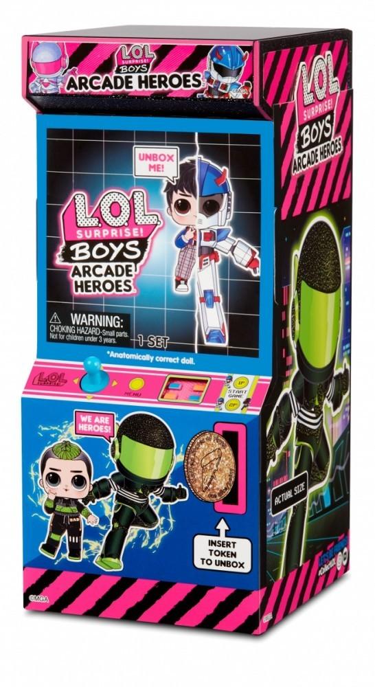 Figurine L.O.L. Surprise Boys Arcade heroes 1 piece