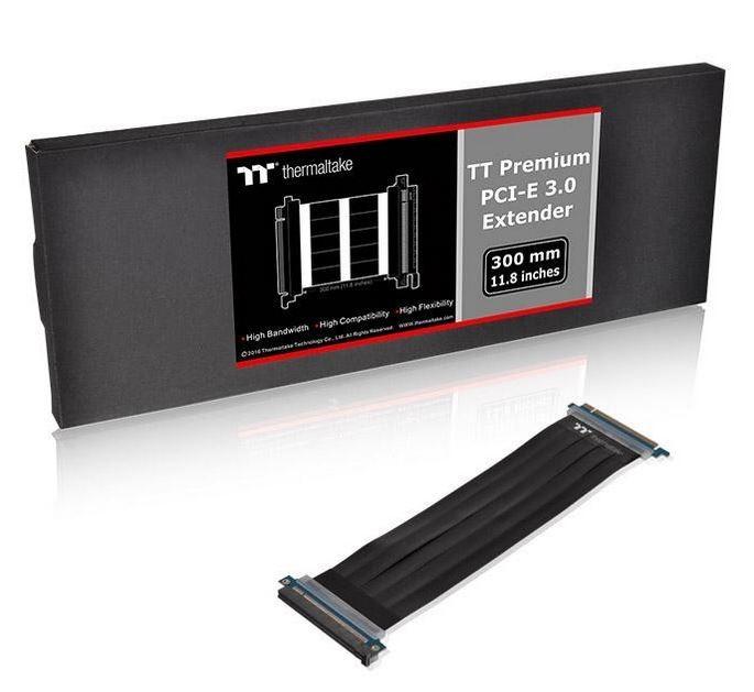 Riser TT Premium PCI-E 3.0 X16 Extender - 300mm