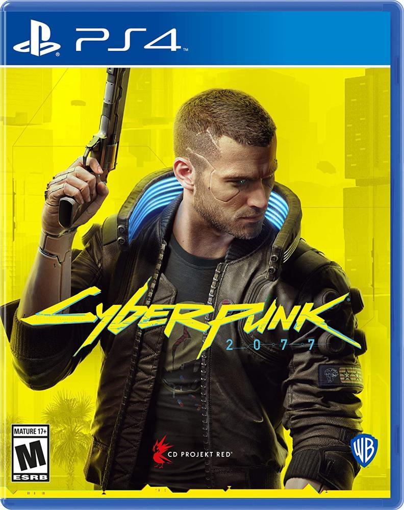 GAME CYBERPUNK 2077//PS4 SONY