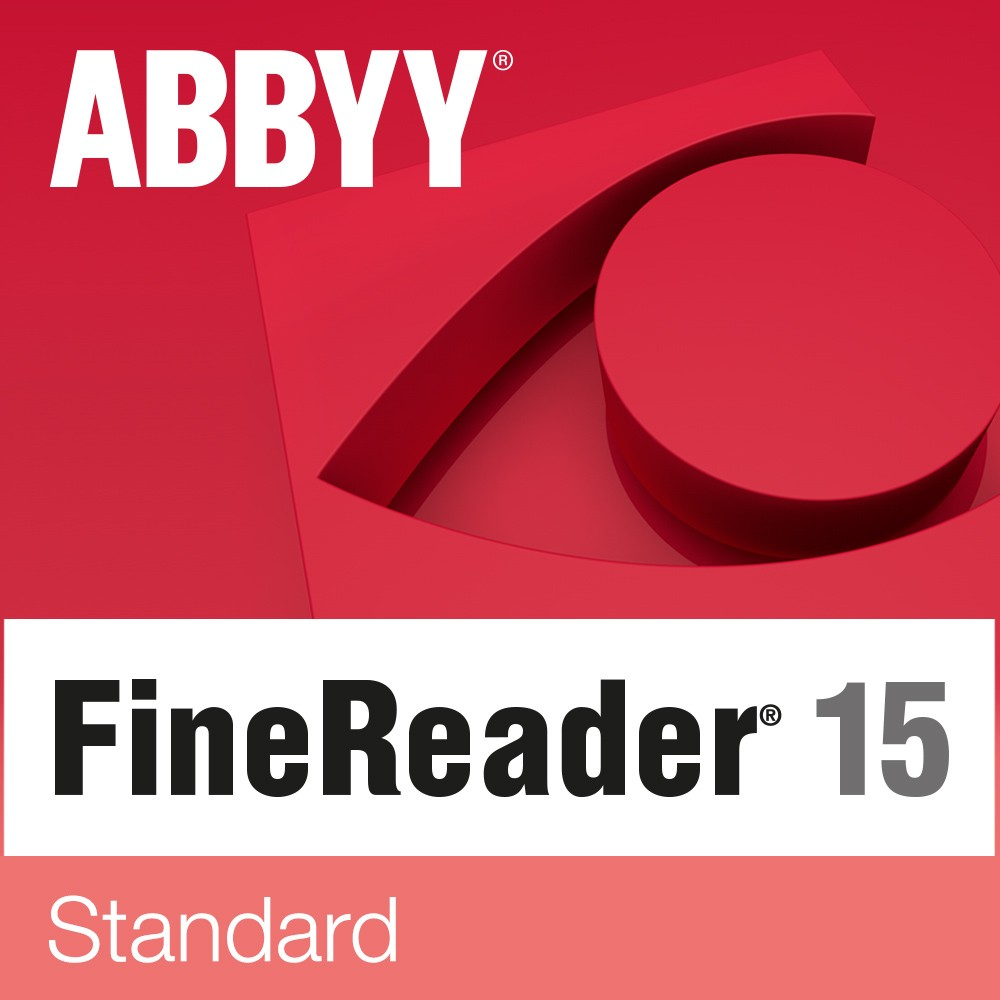 Abbyy FineReader 15 Standard, Single User License (ESD), Perpetual year(s), License quantity 1 user(s)