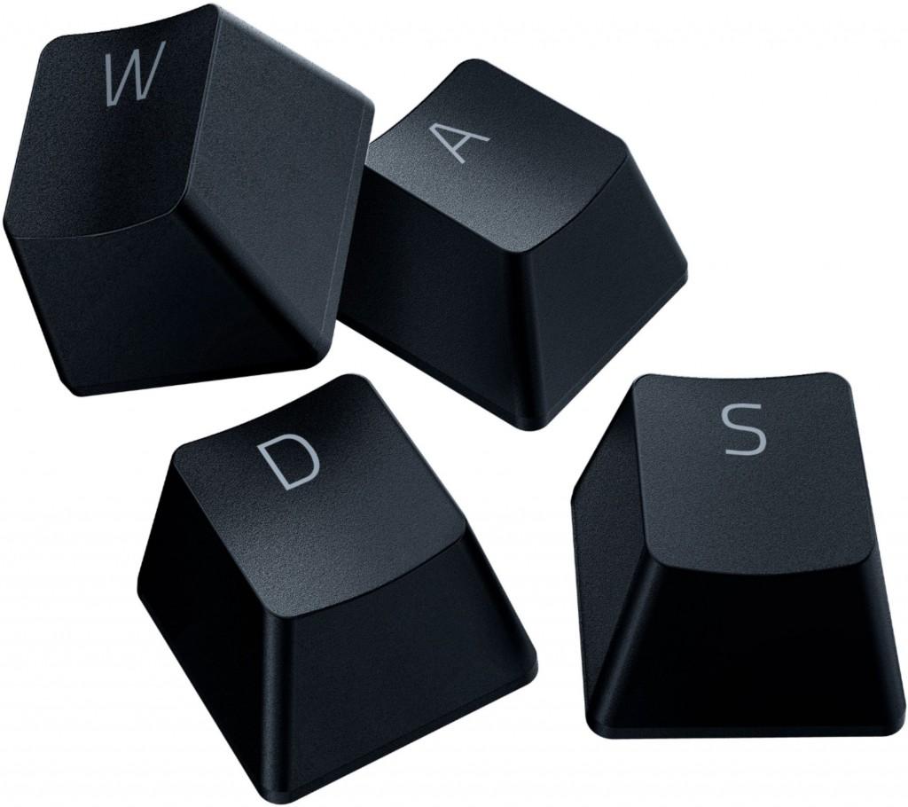 Razer PBT Keycap Upgrade Set, Classic Black