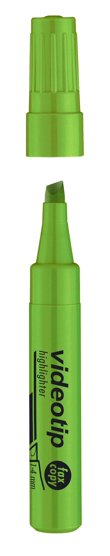 Tekstimarker Ico Videotip PB25, 1-4mm,  roheline