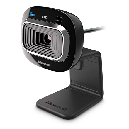 Microsoft T3H-00013 LifeCam HD-3000 Yes, Black, 720p, USB 2.0, Yes