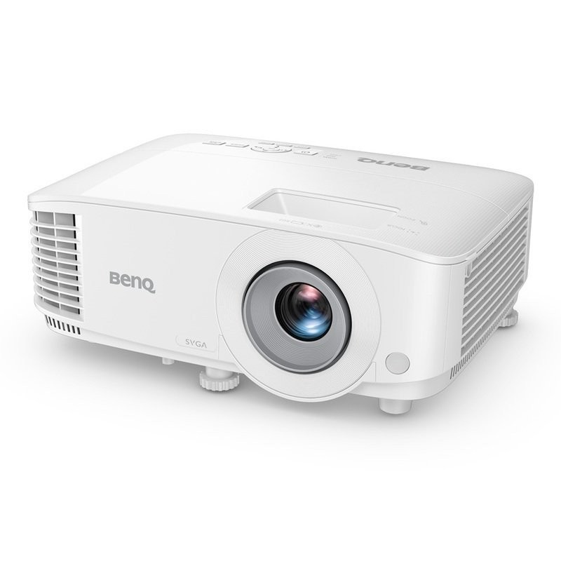 Benq SVGA Business Projector For Presentation MS560 SVGA (800x600), 4000 ANSI lumens, White, Pure Clarity with Crystal Glass Lenses, Smart Eco