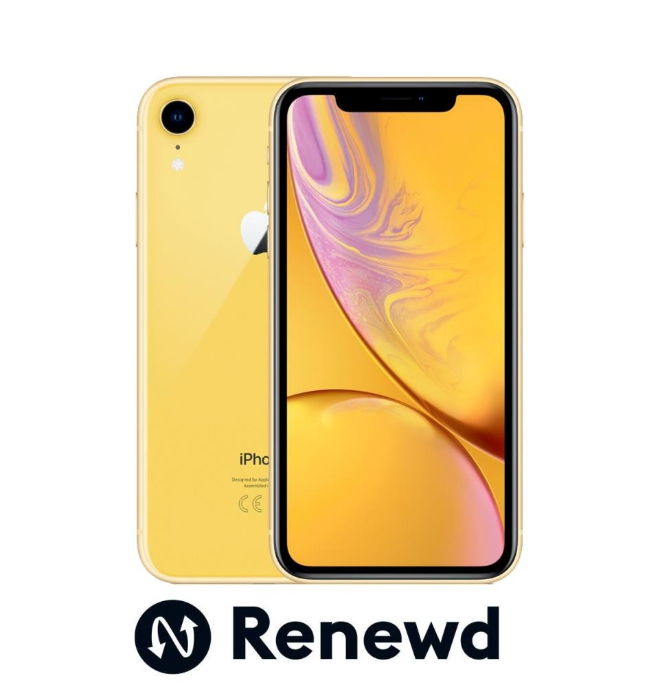 MOBILE PHONE IPHONE XR 64GB/YELLOW RND-P11364 APPLE RENEWD