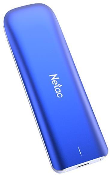 External SSD|NETAC|500GB|USB-C|Write speed 930 MBytes/sec|Read speed 980 MBytes/sec|NT01ZX-500G-32BL