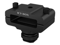 ICYBOX Hot shoe clamp for ext. storage