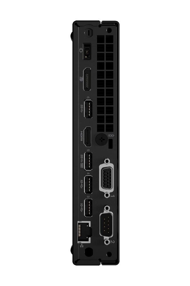 Lenovo ThinkCentre M80q Desktop, Tiny, Intel Core i5, i5-10500T, Internal memory 8 GB, DDR4, SSD 256 GB, Intel UHD 630, No Optical drive, Keyboard language English, Windows 10 Pro, Warranty 36 month(s)
