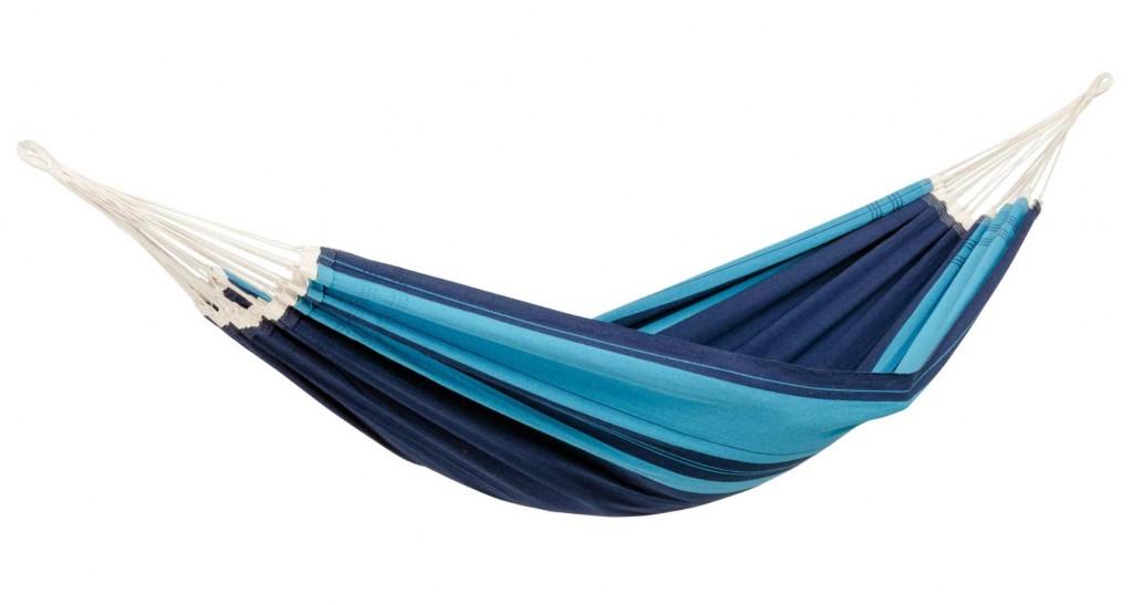 Amazonas Santana Single Hammock, 200x120 cm, 150 kg, Blue