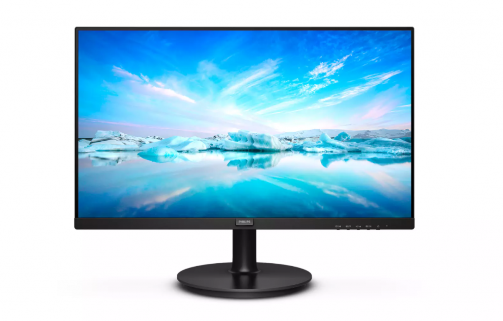 Philips LCD Monitor 271V8LA/00 27 inch (68.6 cm), FHD, 1920 x 1080 pixels, VA, 16:9, Black, 4 ms, 250 cd/m², Audio output, W-LED system