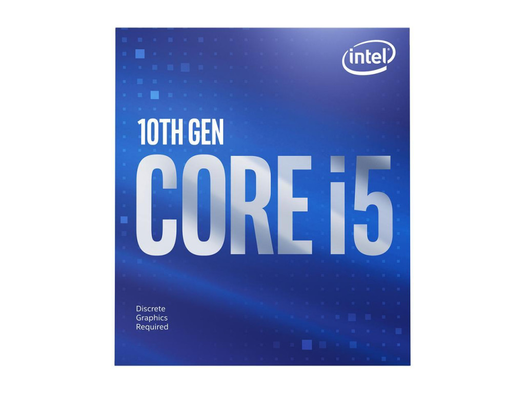 Intel i5-10400F, 2.9 GHz, LGA1200, Processor threads 12, Packing Retail, Processor cores 6, Component for PC