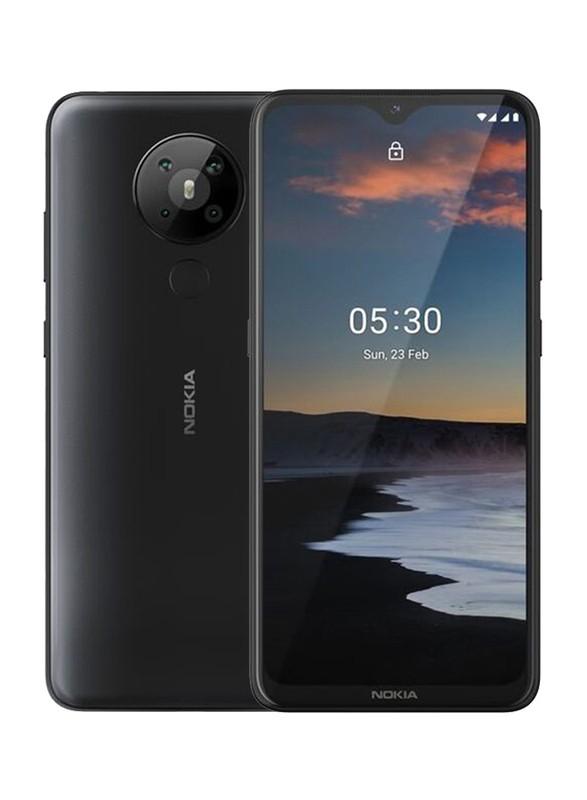 "Nokia 5.3 TA-123 6.55 "", Charcoal, IPS LCD, 720 x 1600 pixels, Qualcomm SM6125 Snapdragon 665, Dual SIM, Nano-SIM, 4.2, Internal RAM 3 GB, 64 GB, MicroSDXC, 3G, 4G, Main camera 13+5+2+2 MP, Secondary camera 8 MP, Android, 10.0, 4000 mAh"