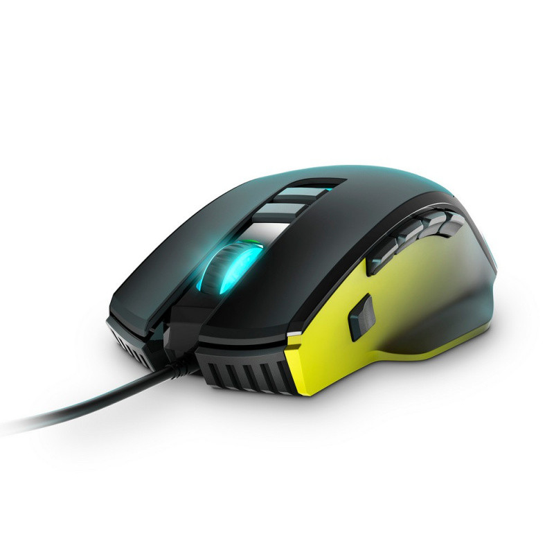 Energy Sistem Gaming Mouse ESG M5 Triforce USB 2.0, 10000 DPI, 8/10/15 control buttons, adjustable weight, RGB LED's