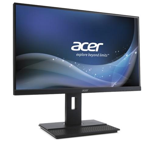 """Acer B6 B276HK 27 """", IPS, 4K UHD, 3840 x 2160, 16:9, 6 ms, 300 cd/m², Dark Grey"""