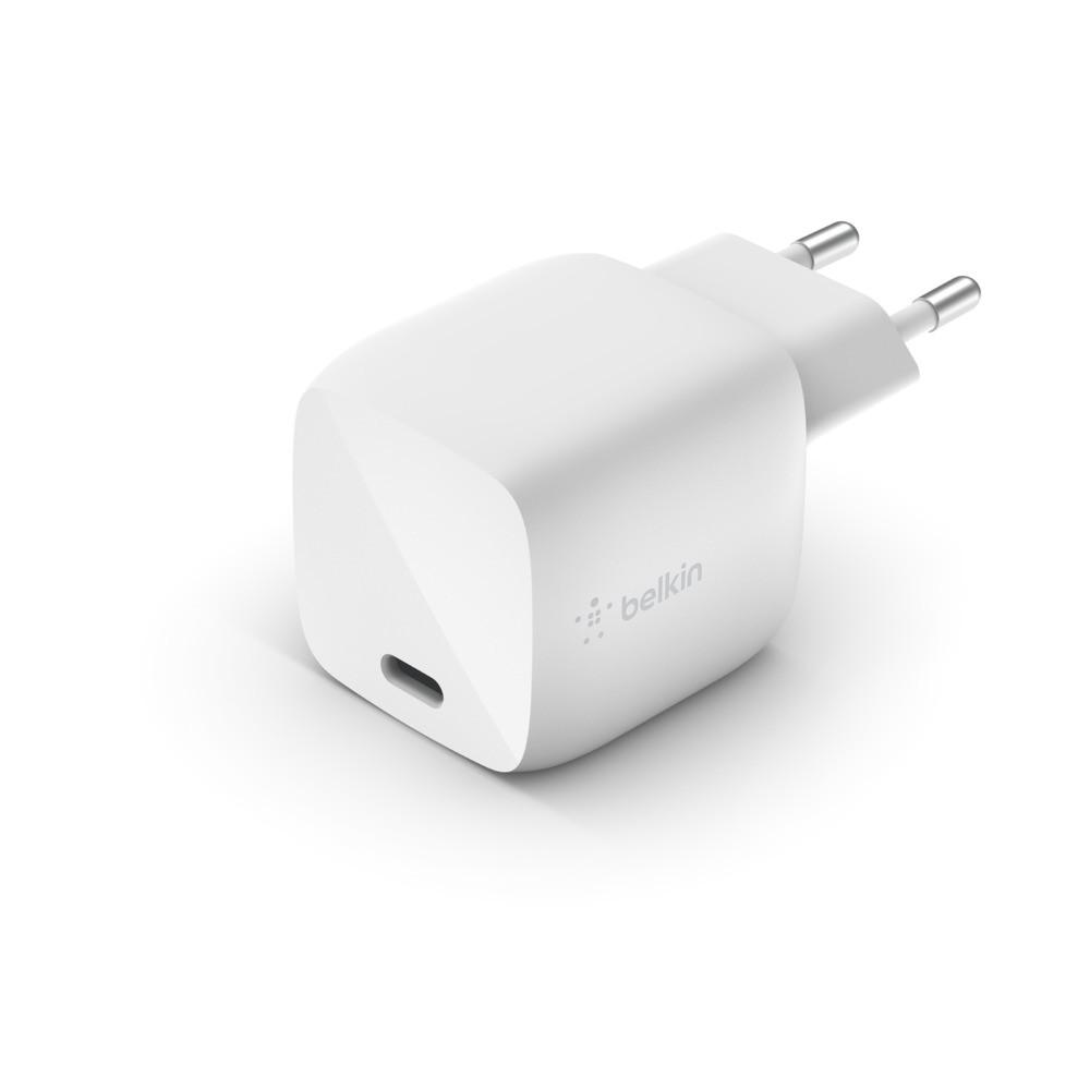 BELKIN 30W USB-C Charger GaN WHT