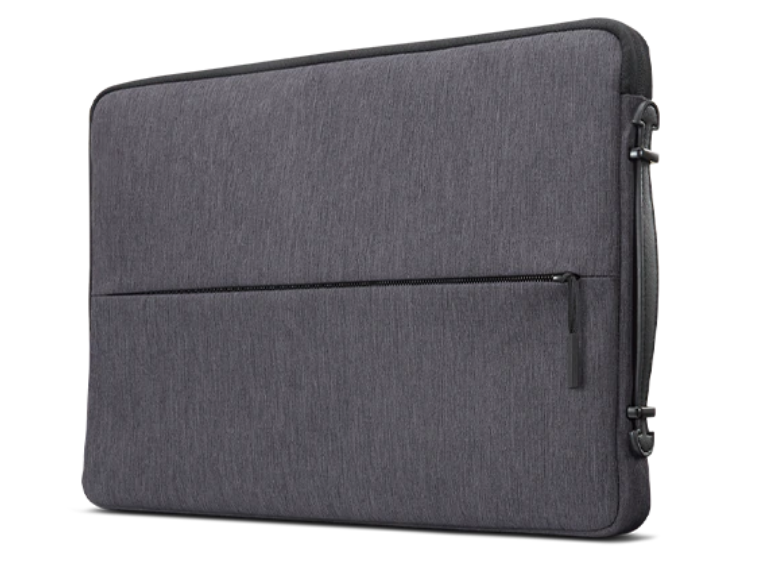 "Lenovo Business Casual Sleeve Case 4X40Z50943 Fits up to size 13.3 x 9.1 x 1.1 "", Charcoal Grey, 13 """