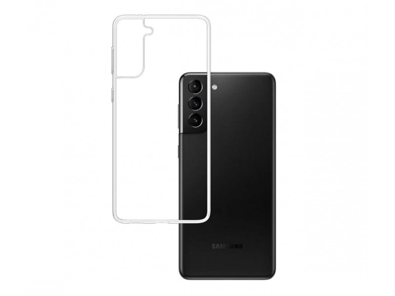 3MK ClearCase Samsung, Galaxy S21, TPU, Transparent, Clear phone case