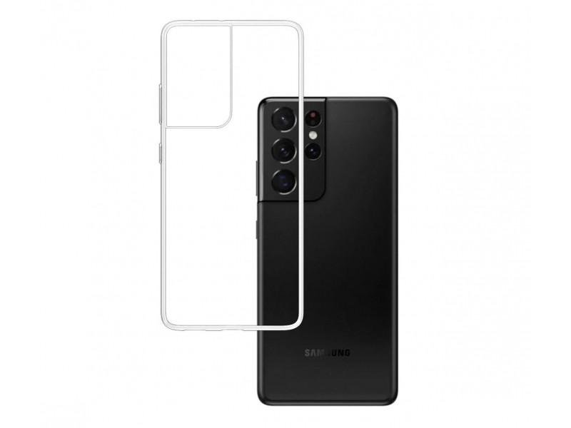 3MK ClearCase Samsung, Galaxy S21 Ultra, TPU, Transparent, Clear phone case