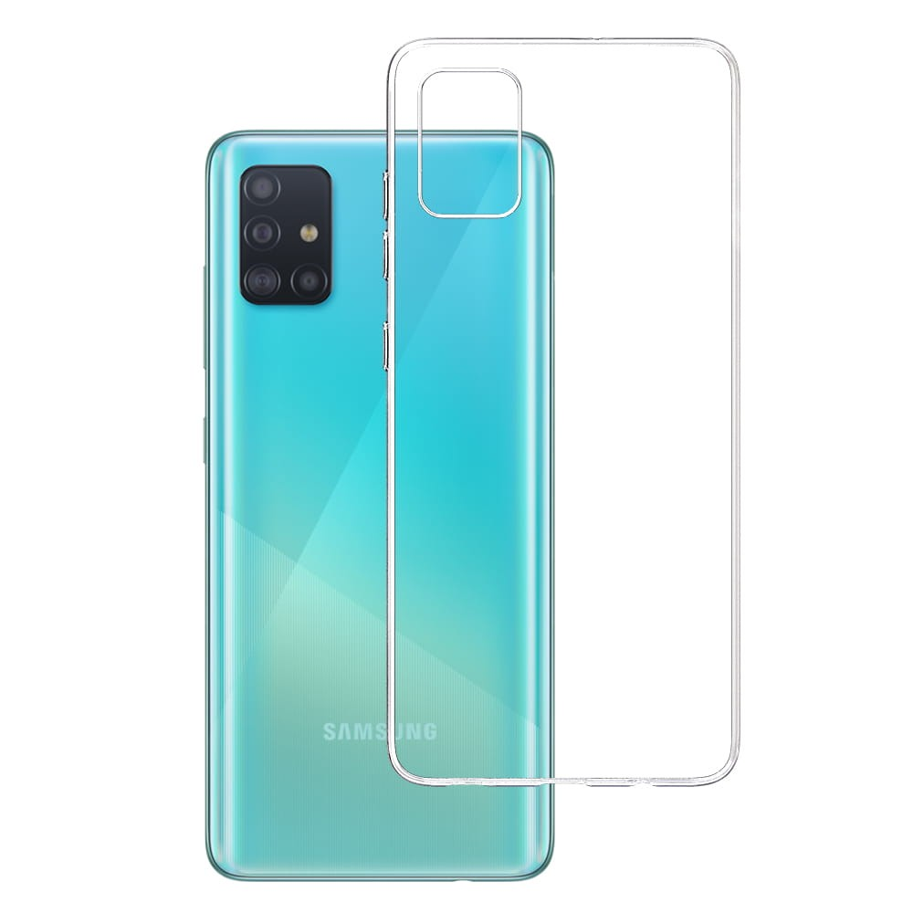 3MK Case, Samsung, Galaxy A51, Flexible TPU, Clear