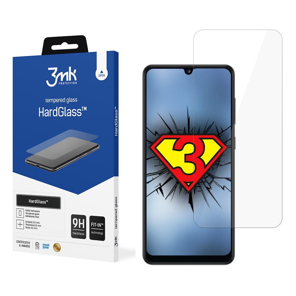 3MK HardGlass Samsung, Galaxy A32, Tempered glass, Clear Screen Protector