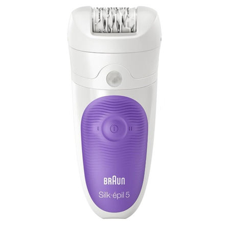 Braun Epilators Silk-épil 5 5-541  Operating time (max) 40 min, Number of power levels 2, Wet & Dry, White/Purple