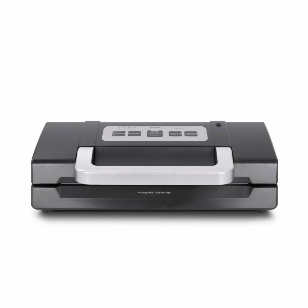 Caso Bar Vacuum sealer HC 170 Power 110 W, Temperature control, Black/Stainless steel