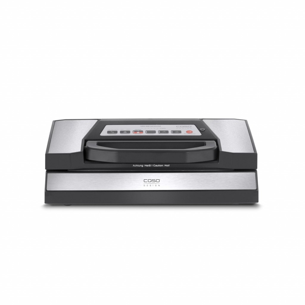 Caso Bar Vacuum sealer VR 690 advanced Power 130 W, Temperature control, Black/Stainless steel