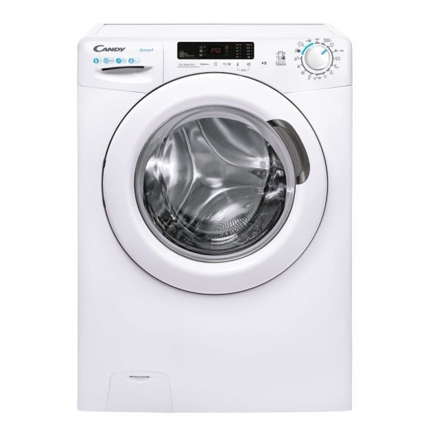 Candy Washing Machine CS34 1052DE/2-S Energy efficiency class D, Front loading, Washing capacity 5 kg, 1000 RPM, Depth 37.8 cm, Width 60 cm, Display, LED, NFC, White