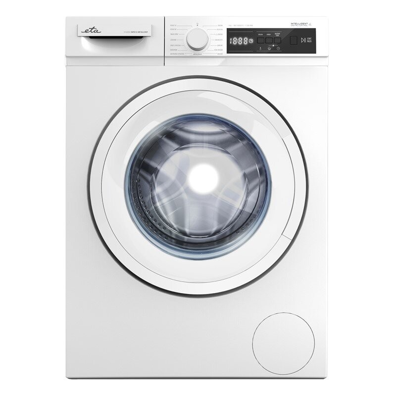 ETA Washing machine ETA355290000 Energy efficiency class D, Front loading, Washing capacity 8 kg, 1200 RPM, Depth 55.7 cm, Width 59.7 cm, White