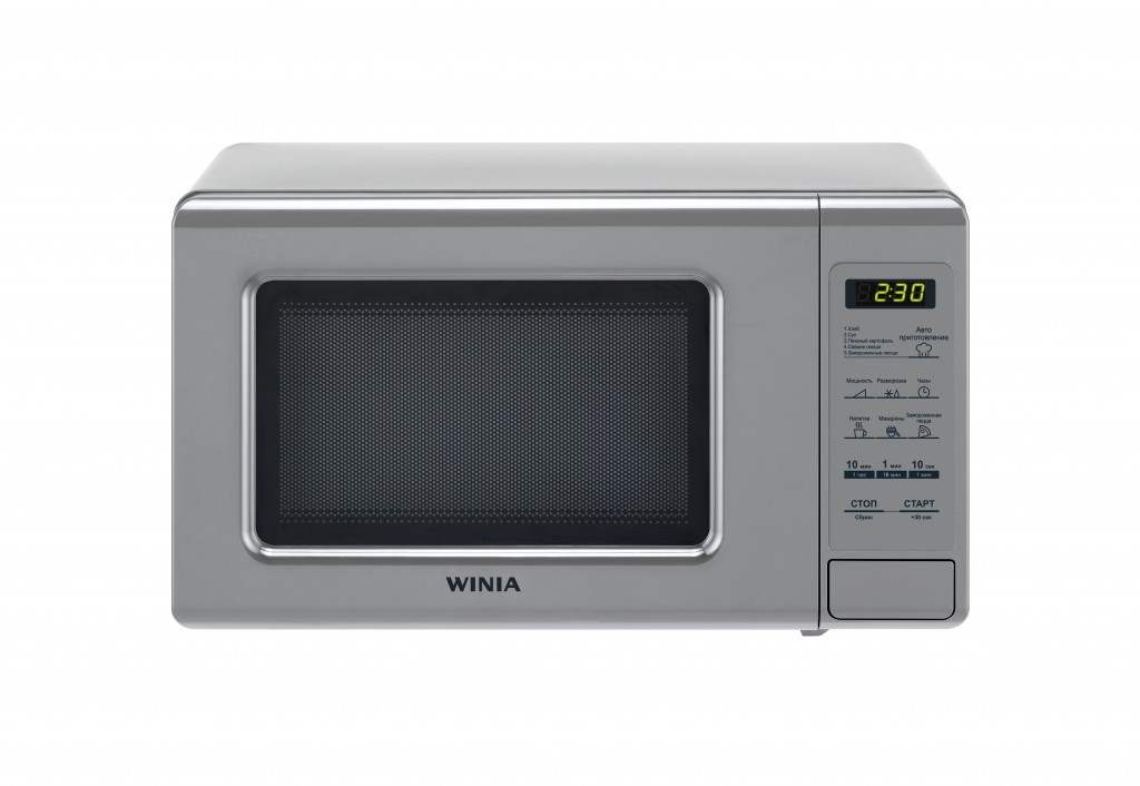 Winia Microwave oven KOR-771BSW Free standing, 700 W, Silver