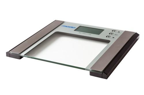 Mesko Bathroom Scale with Analyzer MS 8146 Electronic, Maximum weight (capacity) 180 kg, Accuracy 100 g, Body Mass Index (BMI) measuring, Stainless steel/Glass