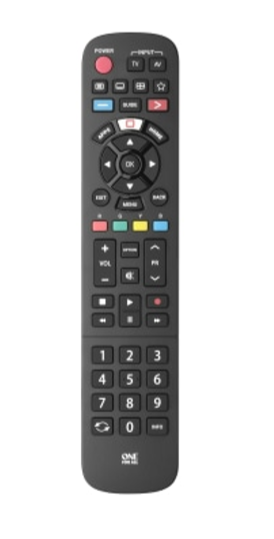 ONE For ALL URC4914 Panasonic Replacement Remote