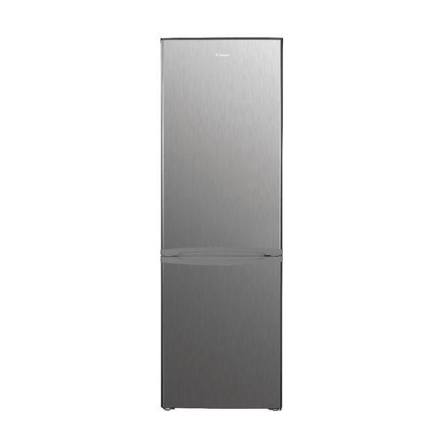 Candy Refrigerator CHICS 5184XN Energy efficiency class E, Free standing, Combi, Height 180 cm, Fridge net capacity 191 L, Freezer net capacity 71 L, 40 dB, Stainless steel
