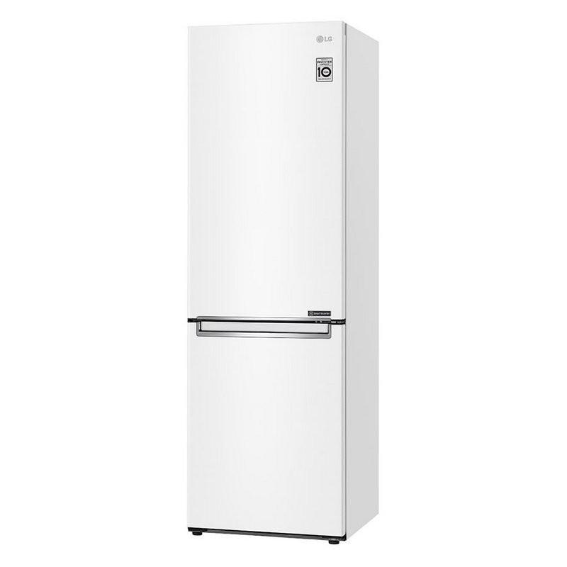 GBP31SWLZN LG Refrigerator GBP31SWLZN Energy efficiency class E, Free standing, Combi, Height 186 cm, No Frost system, Fridge net capacity 234 L, Freezer net capacity 107 L, Display, 36 dB, White