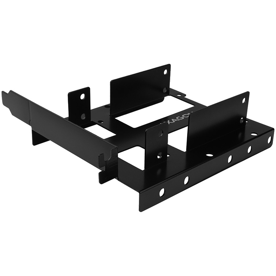 """AXAGON RHD-P35 Reduction for 2x 2.5"""" HDD into PCI position, black"""