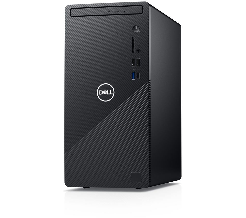 Dell Inspiron 3881 Desktop, Tower, Intel Core i3, i3-10100, Internal memory 8 GB, DDR4, 1000 GB, Intel UHD 630, Tray load DVD Drive (Reads and 2rites to DVD/CD), Keyboard language English, Windows 10 Home, Warranty 36 month(s)