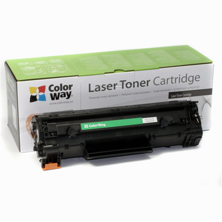 ColorWay Econom Toner Cartridge, Black, Canon: 728/726, HP CE278A
