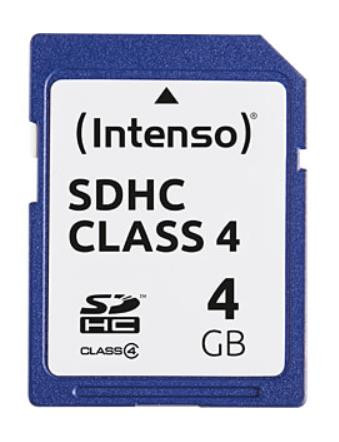 MEMORY SDHC 4GB C4/3401450 INTENSO