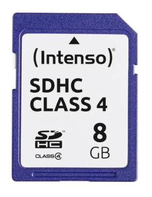 MEMORY SDHC 8GB C4/3401460 INTENSO