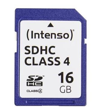 MEMORY SDHC 16GB C4/3401470 INTENSO