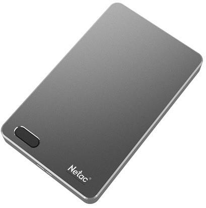 External HDD NETAC NT05K391F-001T-30GR 1TB USB 3.0 Buffer memory size 8 MB Colour Iron NT05K391F-001T-30GR
