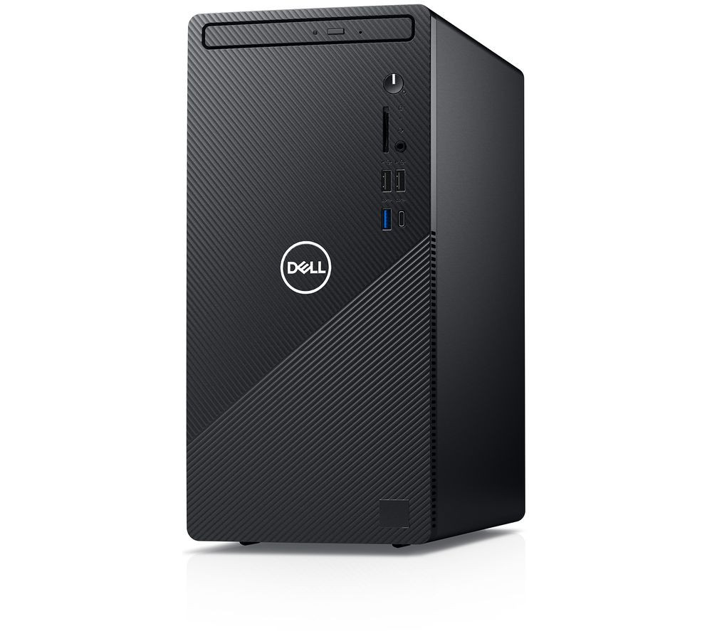 Dell Inspiron 3881 Desktop, Tower, Intel Core i5, i5-10400F, Internal memory 8 GB, DDR4, 1000 GB, SSD 256 GB, 256+1000 GB, NVIDIA GeForce GTX 1650 SUPER, Tray load DVD Drive (Reads and Writes to DVD/CD), Keyboard language English, Windows 10 Pro, Warranty 36 month(s)