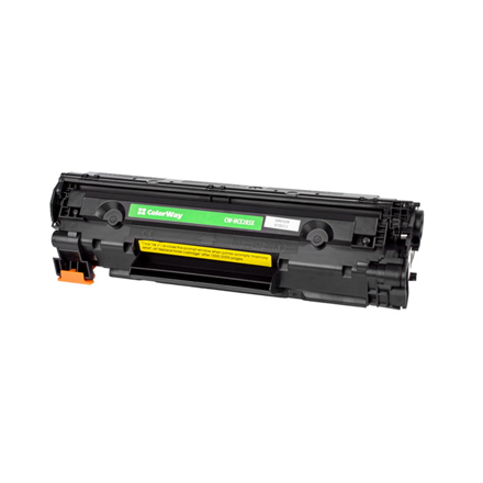 ColorWay Toner Cartridge, Black, HP CE285X; Canon 725H