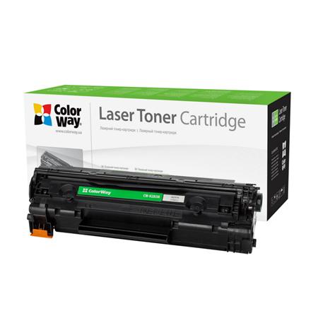 ColorWay Econom Toner Cartridge, Black, HP CE285A; Canon 725