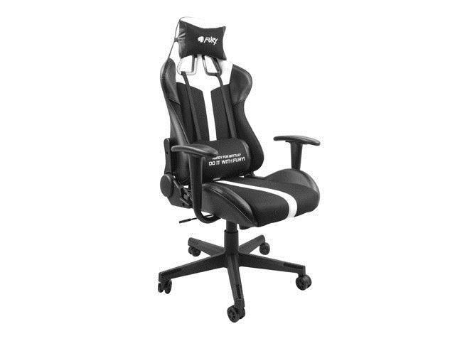 Genesis Gaming Chair Fury Avenger XL Black/White